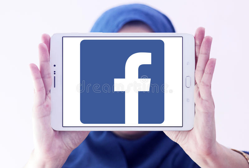 Facebook logo stock image