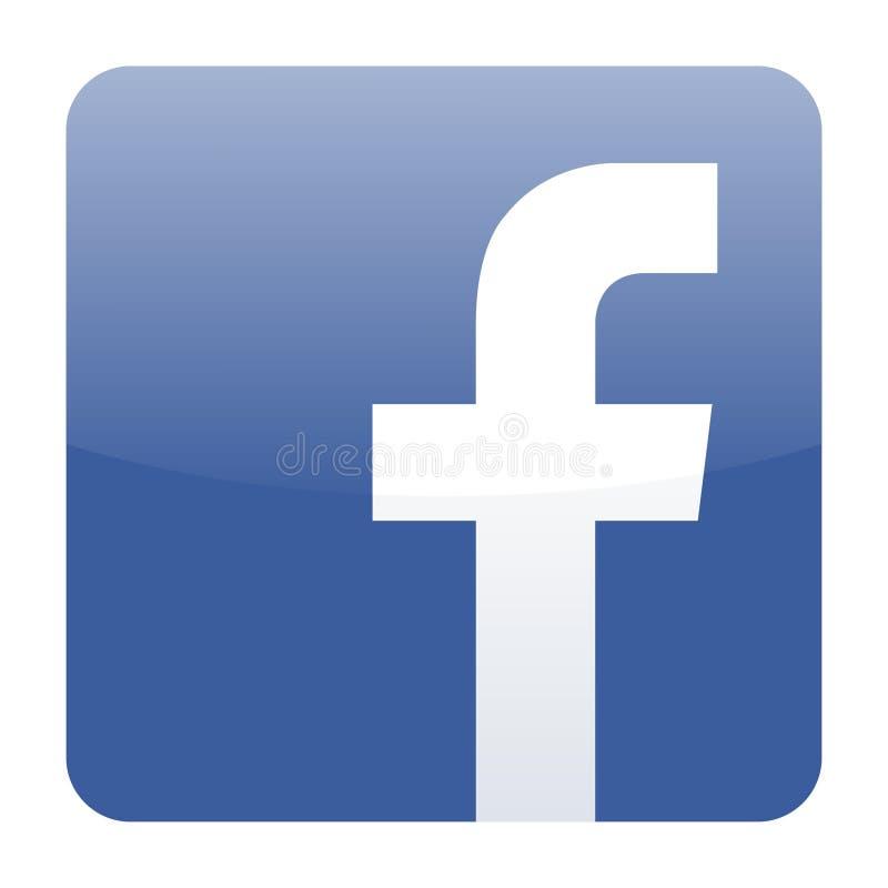Facebook icon vector vector illustration