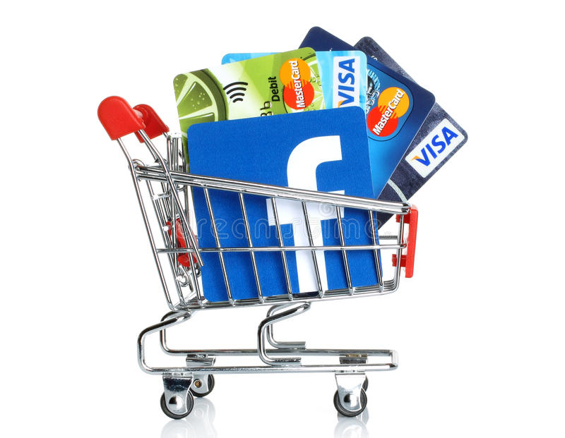 Facebook logo printed on paper and placed into shopping cart with download facebook logo printed on paper and placed into shopping cart with cards visa and mastercard colourmoves