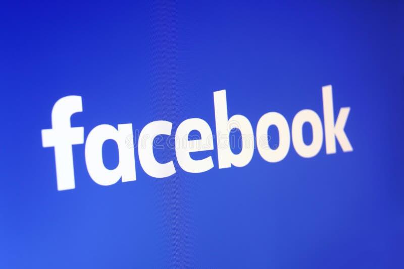 Facebook mudou seu logotipo fotos de stock royalty free