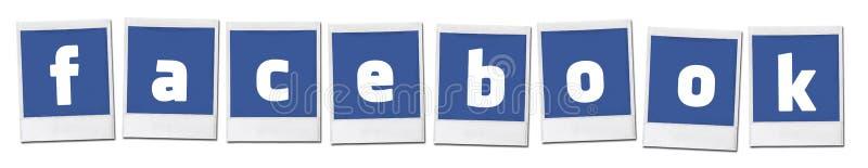Facebook Ogólnospołeczny Medialny udzielenie zdjęcie stock