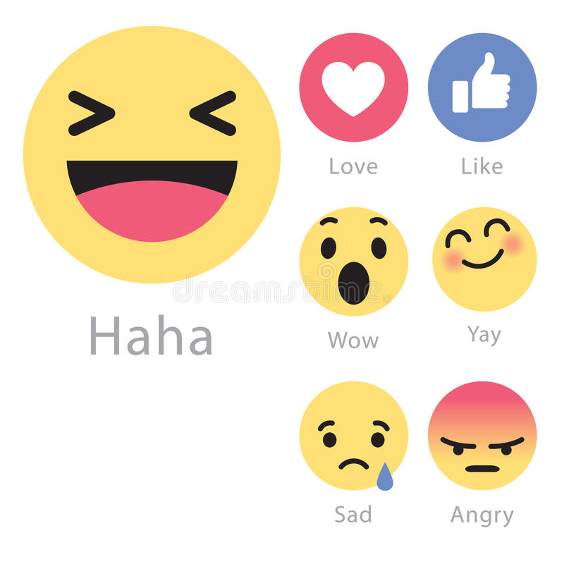 Facebook Rolls Out Five New Emoticon Icons Editorial Stock Photo