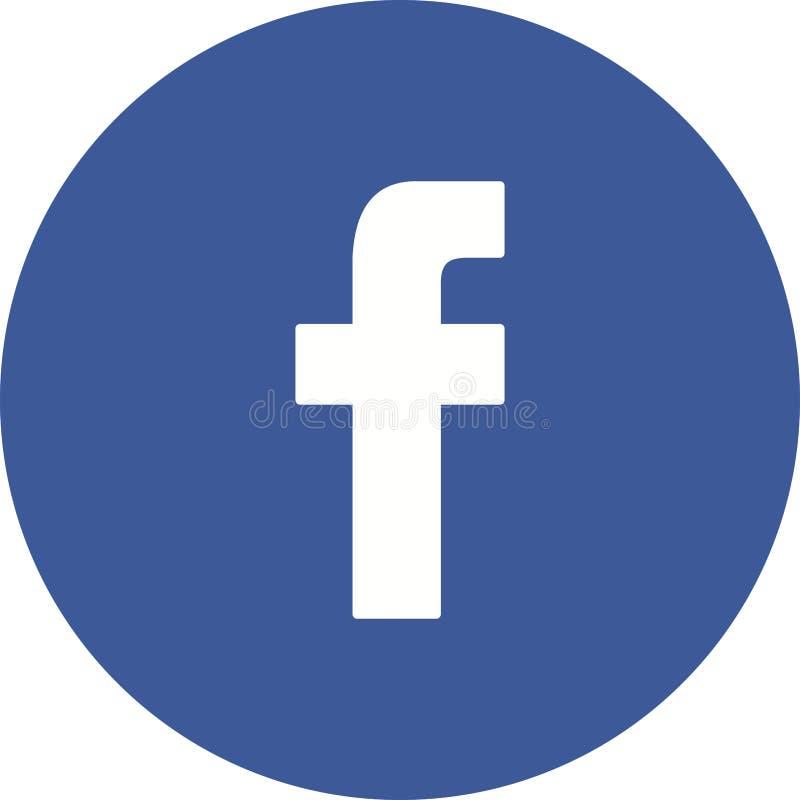 Facebook vector illustration
