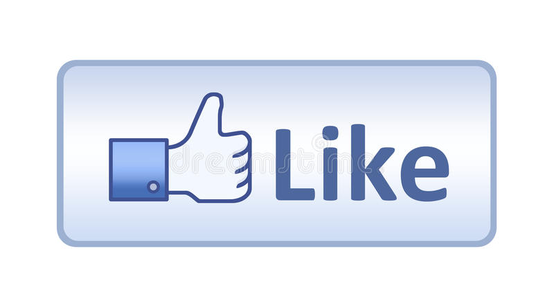 Download Facebook Thumb Up Like Button Editorial Stock Photo - Image: 23351093