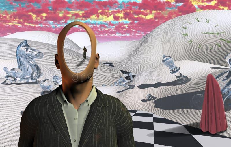 faceless ilustração do vetor