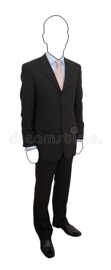Download Faceless Man In Suit Stock Image - Image: 19857331