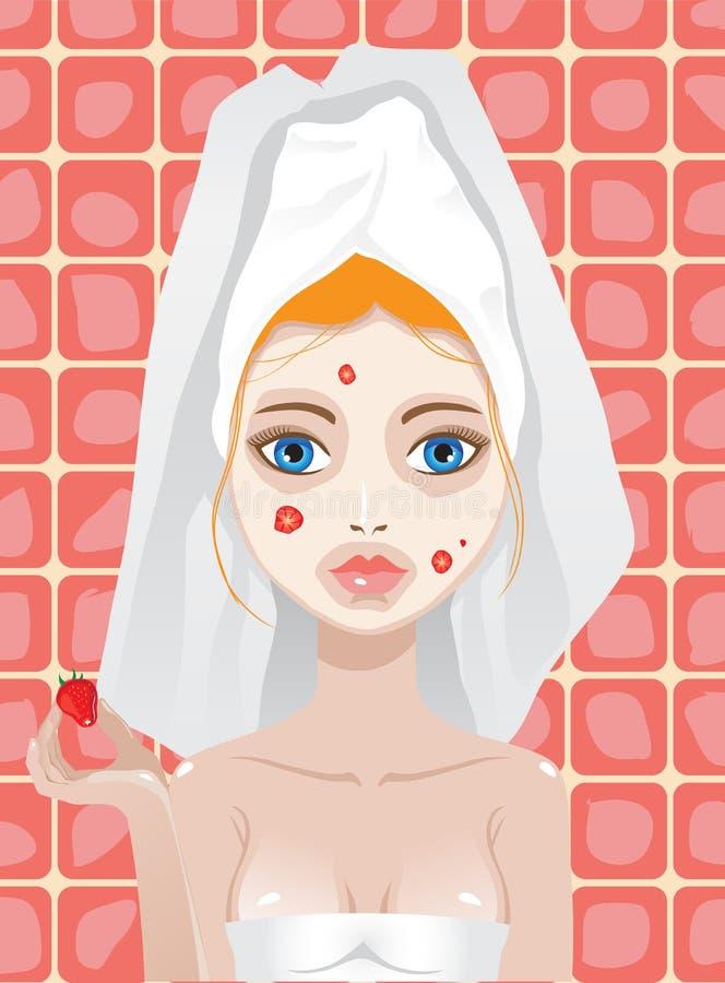 Facemask stock illustratie