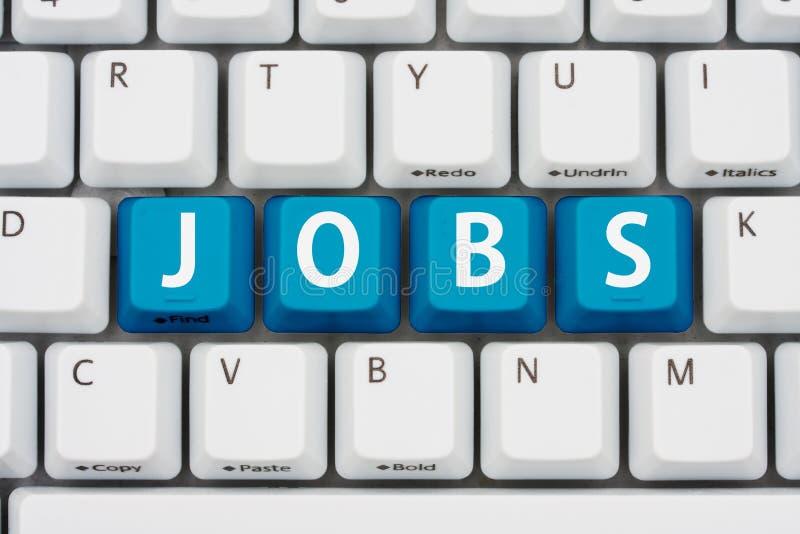 Facendo domanda per i job sul Internet
