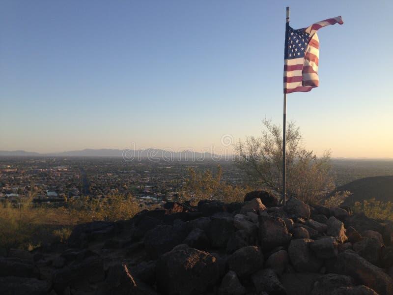 Facendo un'escursione in Arizona fotografia stock libera da diritti