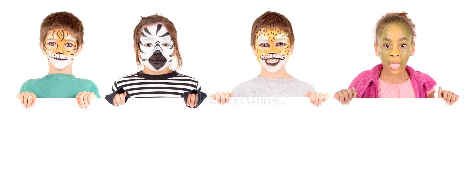 Facepaint photos stock