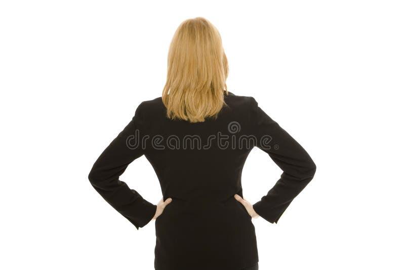Faces da mulher de negócios ausentes fotos de stock royalty free