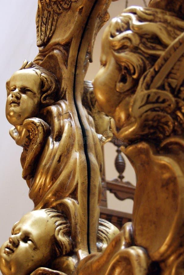Faces do anjo foto de stock