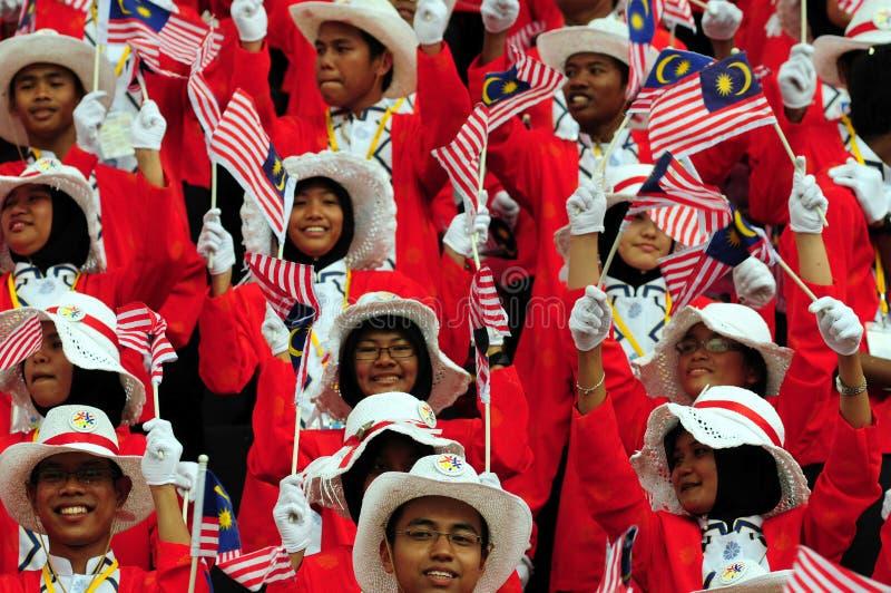 Faces do Malaysian imagem de stock