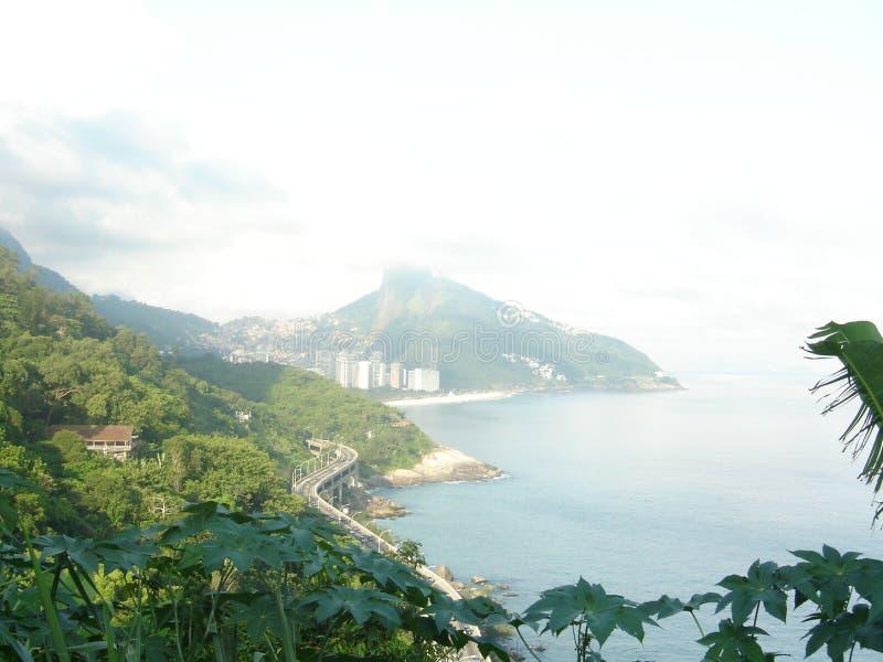 Faces of Rio de Janeiro royalty free stock photography
