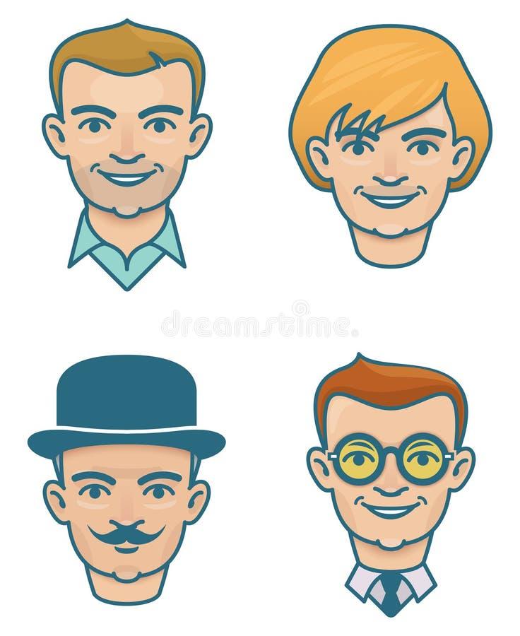 Faces stock photos