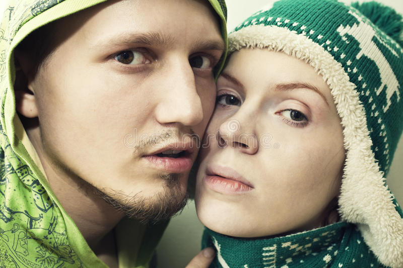 Download Faces young couple in love stock photo. Image of beauty - 25934560
