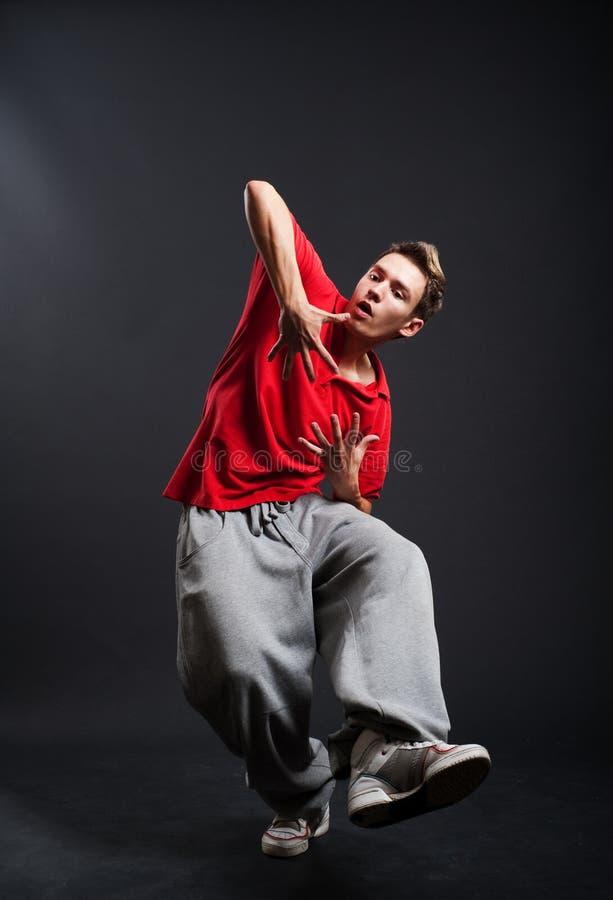 faceta hip hop zdjęcie stock