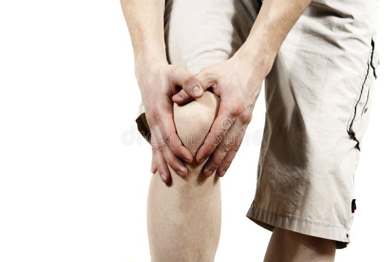 faceta mienia kolano fotografia stock