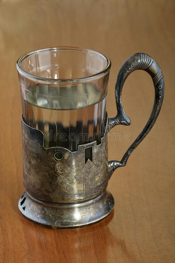 Ancient Silver Tableware Stock Image Image Of Handle