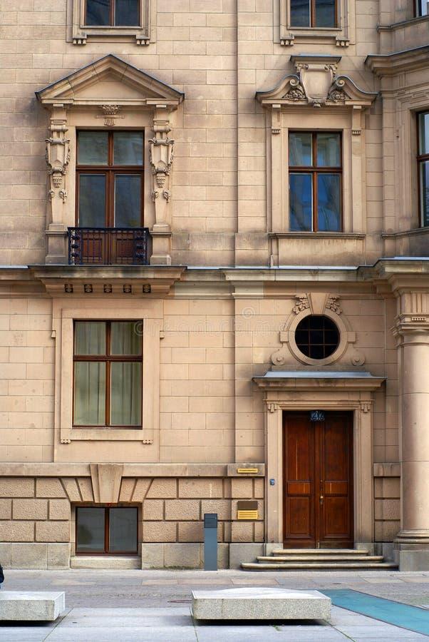 Fachada clássica em Berlim foto de stock royalty free