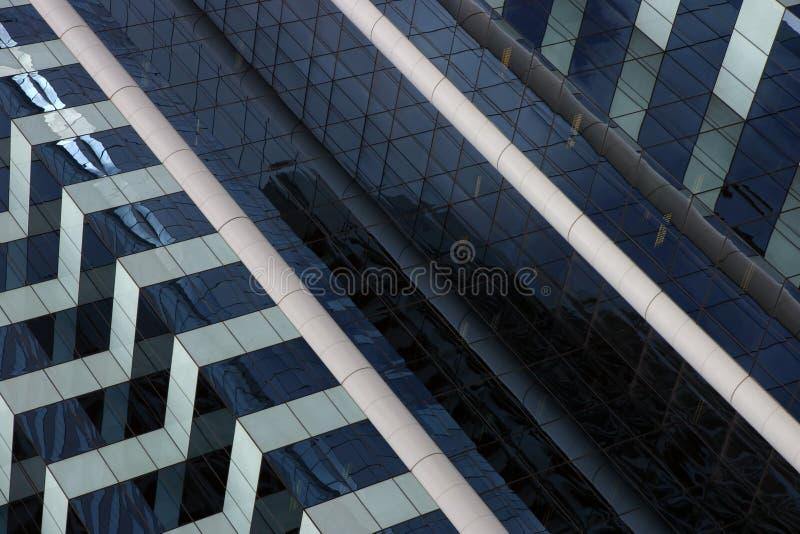 Fachada corporativa del edificio fotografía de archivo