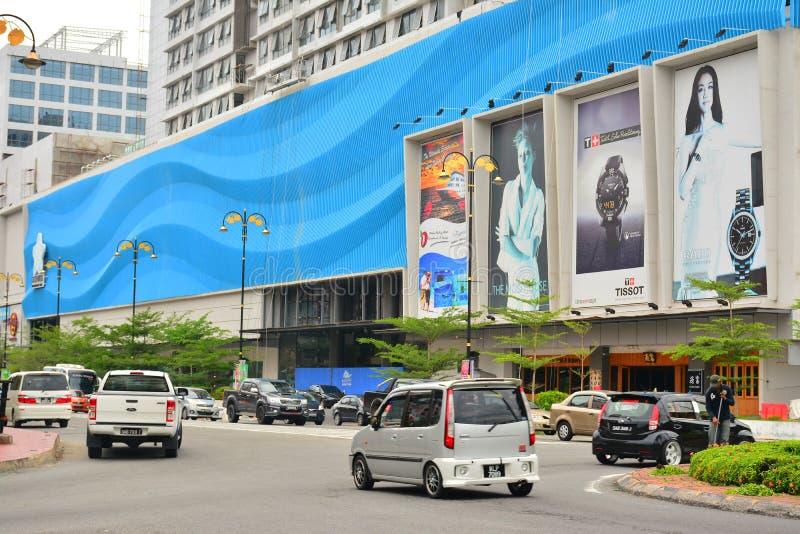 Fachada da alameda da margem de Oceanus em Malásia foto de stock