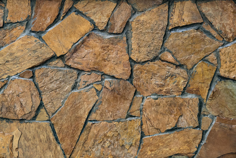 Fachada da parede de pedra foto de stock royalty free
