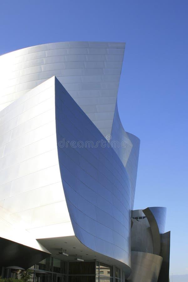 Fachada de acero Los Ángeles imagenes de archivo
