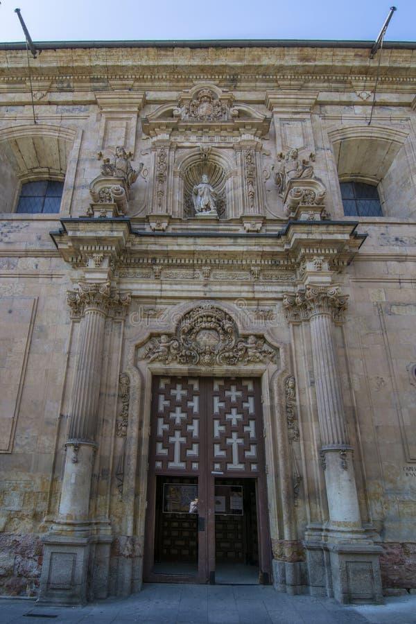 Fachada de la capilla del convento de San Francisco el Real de foto de archivo libre de regalías