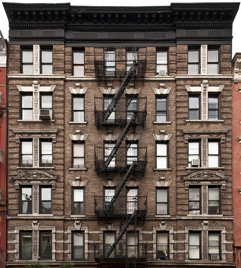 Fachada de New York imagem de stock