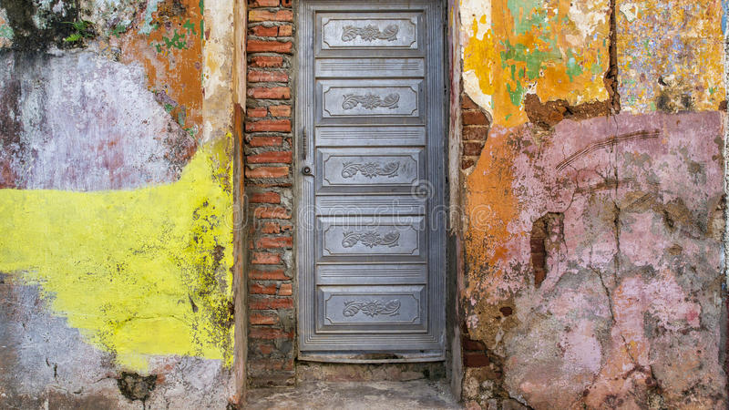 Fachada 1 de Trinidad, Cuba foto de archivo