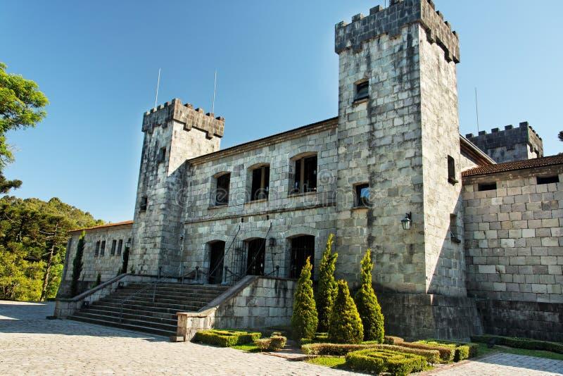 Fachada del castillo fotografía de archivo libre de regalías