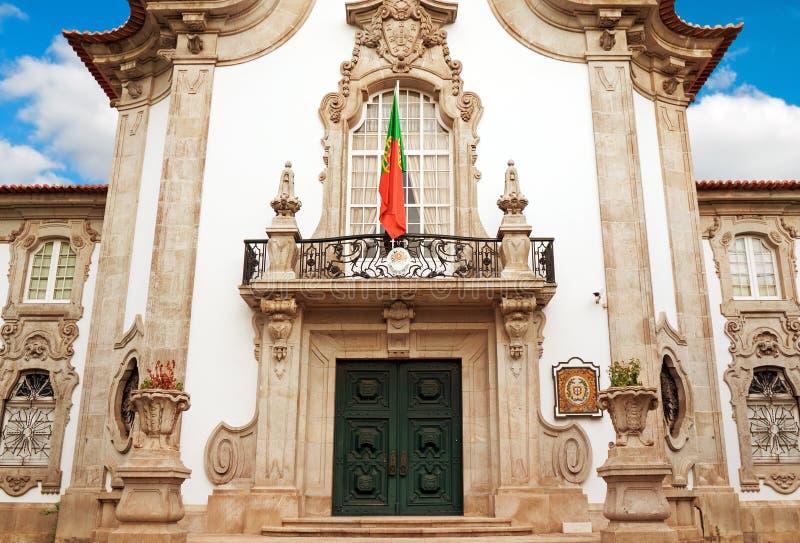 Fachada del consulado viejo del edificio de Portugal en Sevilla, España fotos de archivo libres de regalías