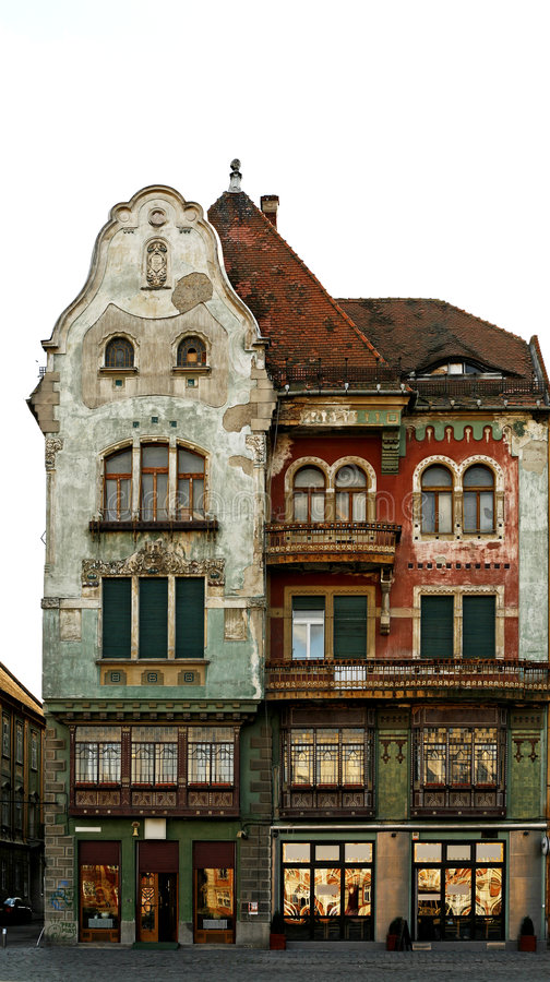 Fachada del edificio fotos de archivo libres de regalías