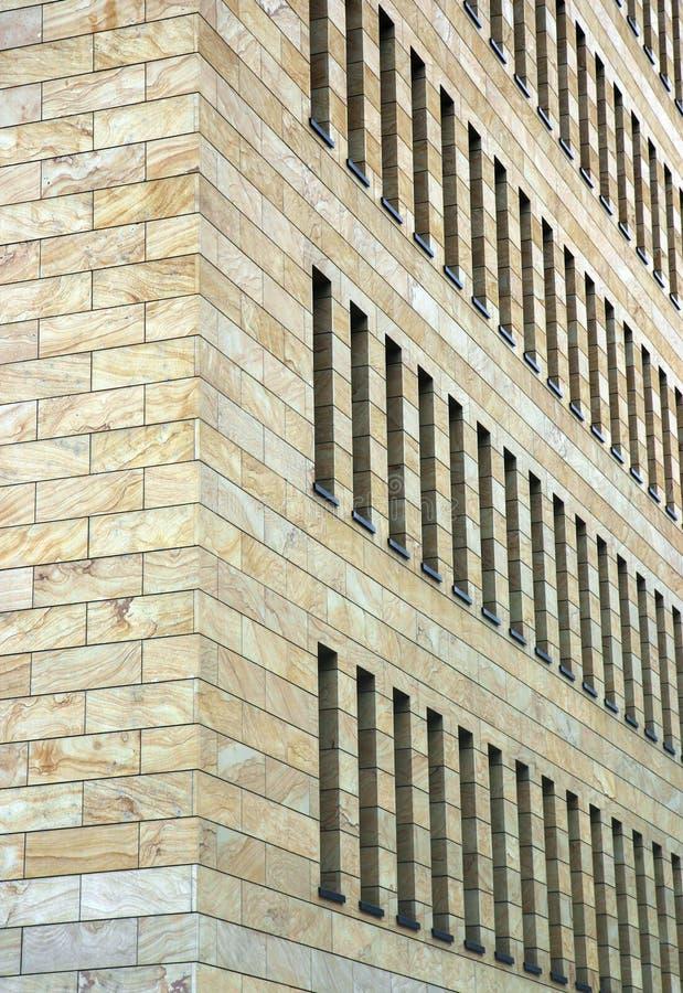 Fachada del edificio del asunto imagenes de archivo