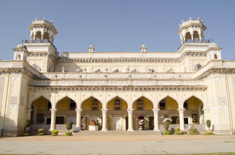 Fachada del palacio de Chowmahalla foto de archivo
