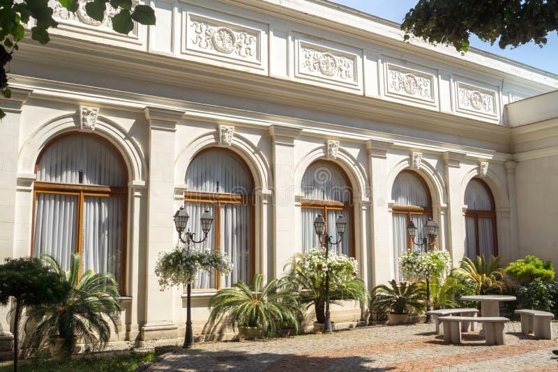 Fachada del palacio de Livadia fotos de archivo libres de regalías