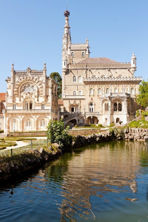 Fachada del palacio gótico viejo imagen de archivo libre de regalías