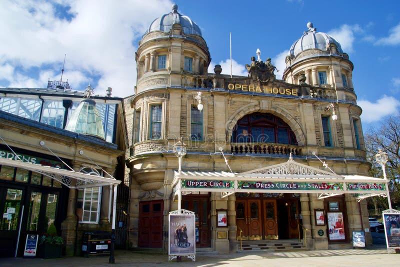 Fachada del teatro de la ?pera de Buxton imagen de archivo