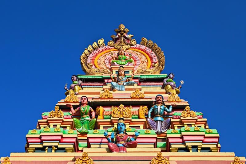 Fachada del templo hindú fotografía de archivo libre de regalías