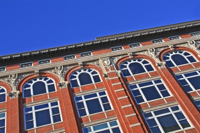 Fachada do edifício foto de stock royalty free