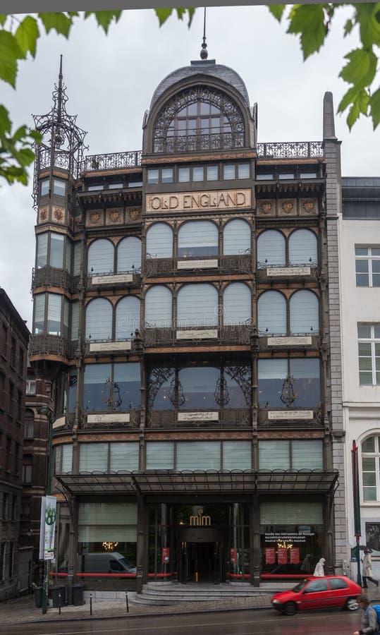 Museu Bruxelas do instrumento musical fotografia de stock royalty free