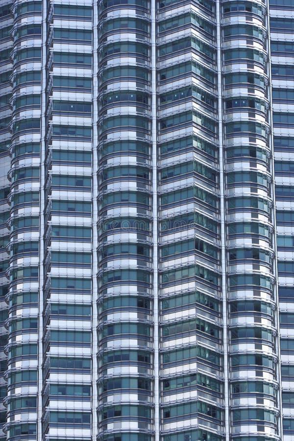 Fachada do prédio de escritórios imagem de stock