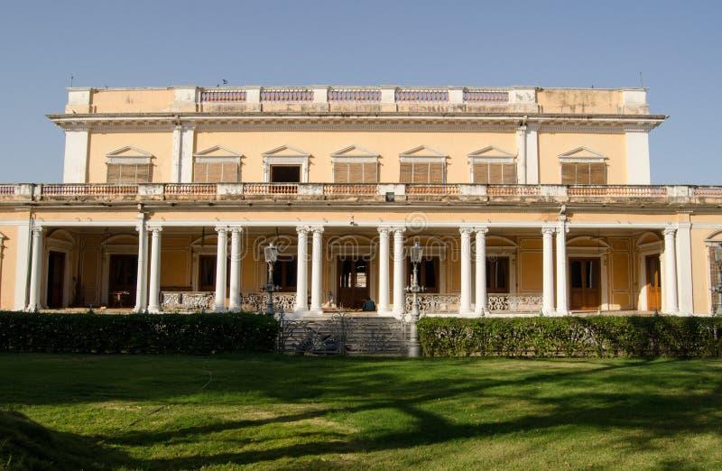 Fachada meridional, palacio de Chowmahalla fotografía de archivo