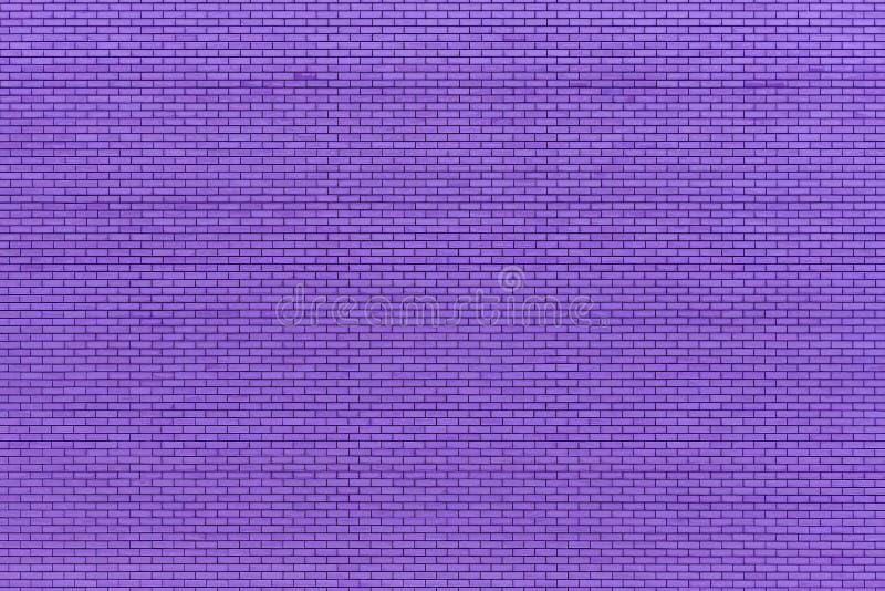 Fachada púrpura de la pared de ladrillo Material de construcci?n Copie el espacio fotografía de archivo