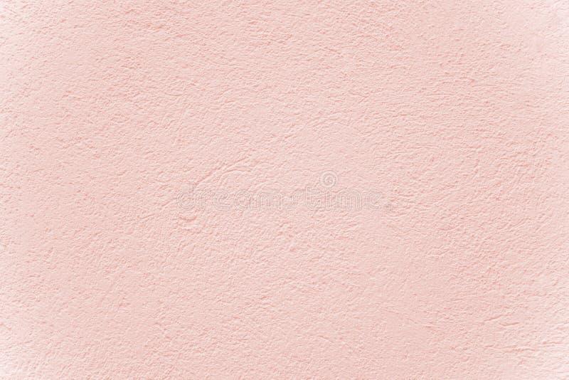 Fachada pintada cor-de-rosa pastel clara com gala fotos de stock
