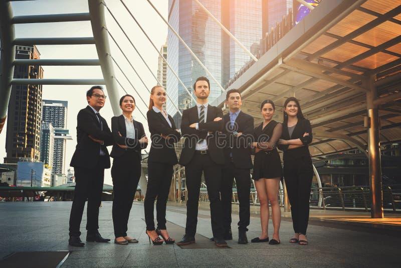 Fachowa biznes drużyna obraz royalty free