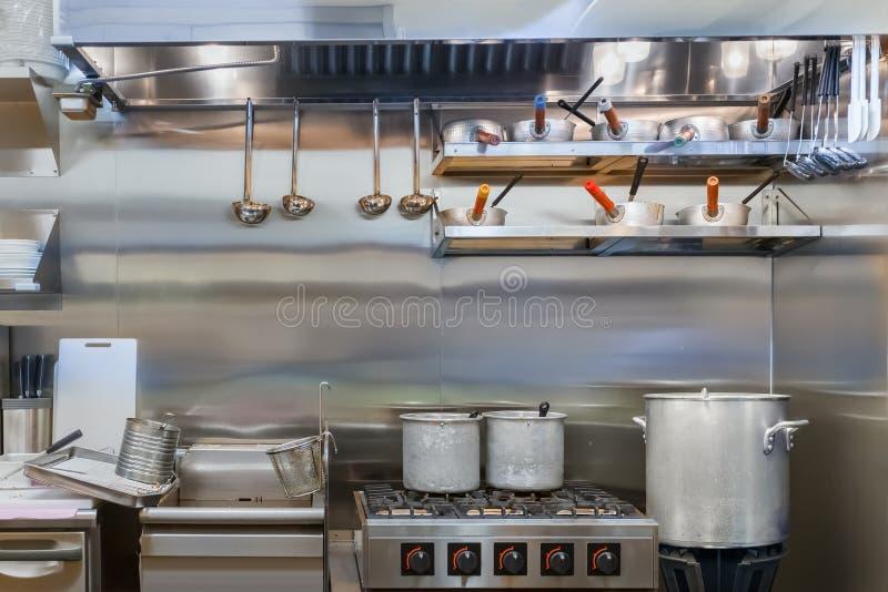 Fachowa kuchnia zdjęcia royalty free