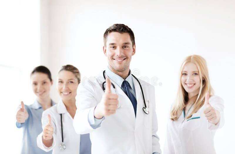 Fachowi potomstwa drużyna lub grupa lekarki zdjęcia royalty free