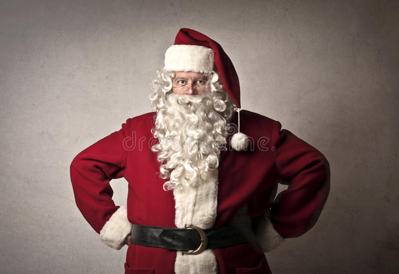 Fachowy Święty Mikołaj zdjęcie stock